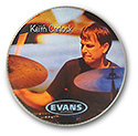 Custom Evans Carlock Souvenir Drum Head